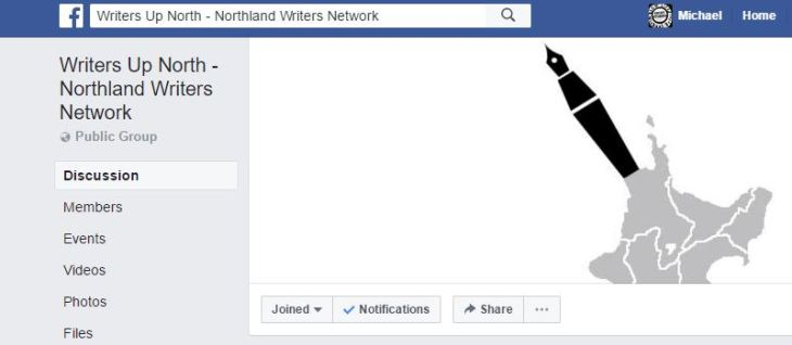 Writers up north on facebook