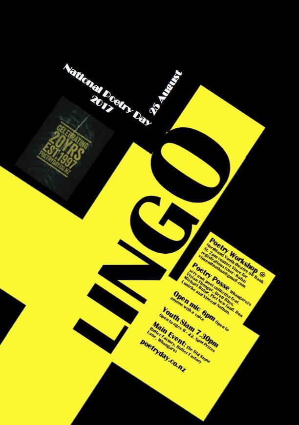 Lingo poetry slam