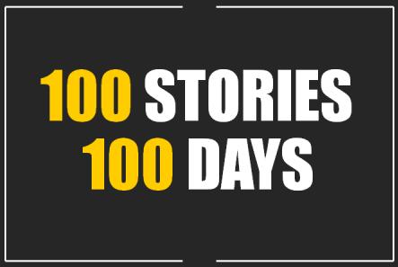 100 stories 100 days