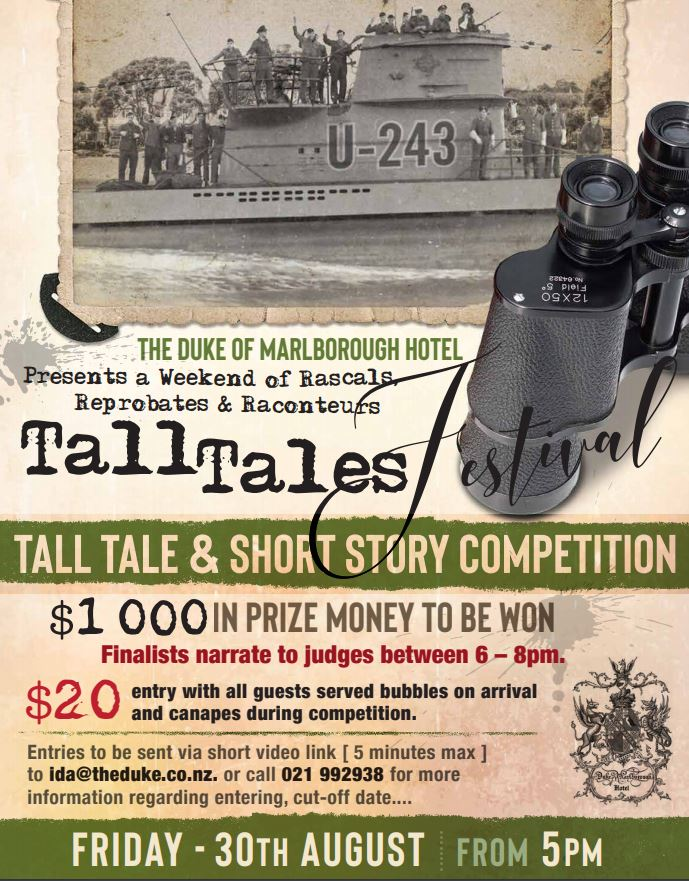 Tall tales competition